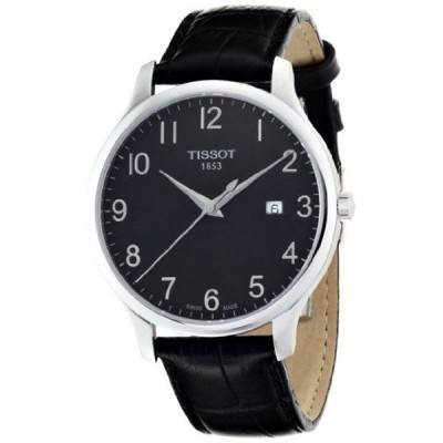 ティソ Tissot 腕時計 メンズ 時計 Tissot Men's TIST0636101605200 T Classic Analog Display Swiss Quartz Black Watch