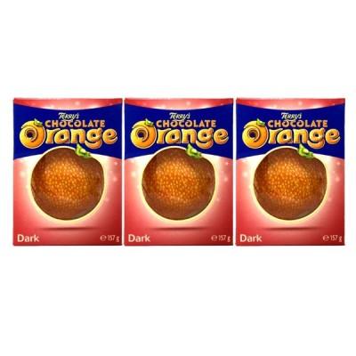 送料無料 TERRY'S テリーズ オレンジ チョコレート ダーク 157g×3個セット クール便