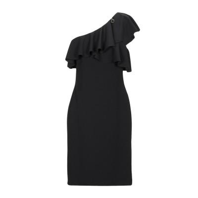 MANGANO ミニワンピース&ドレス ブラック L ポリエステル 95% / ポリウレタン 5% ミニワンピース&ドレス