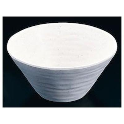 マイン メラミンウェア 白 深鉢小M11-208 RMI8402