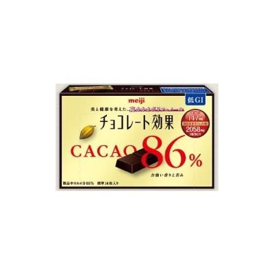明治 チョコレート効果カカオ86%26枚入り 130g まとめ買い(×6)