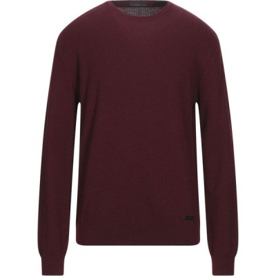 アレッサンドロ デラクア ALESSANDRO DELL'ACQUA メンズ ニット・セーター トップス Sweater Maroon