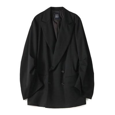 <LIMI feu(Women)/リミフゥ> W/Gabardine Tuck Sleeve Jacket ブラック【三越伊勢丹/公式】