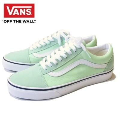 VANS / OLD SKOOL GREEN ASH/TRUE WHITE バンズ オールドスクール グリーン アッシュ