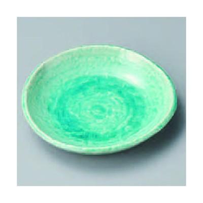 トルコ釉5寸丸皿 316-23-304
