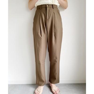 wears / 細見えスラックステーパードパンツ WOMEN パンツ > スラックス