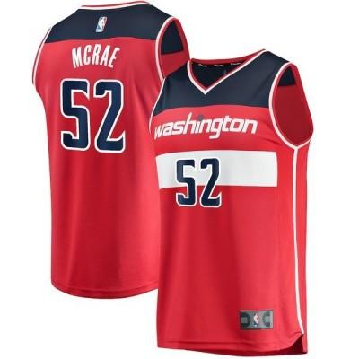 ファナティクス ブランデッド メンズ Tシャツ トップス Jordan McRae Washington Wizards Fanatics Branded Fast Break Player Jersey