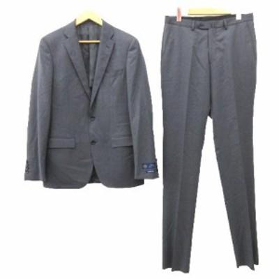 【中古】未使用品 タグ付き オンリー ONLY スーツ シングル 2B ジャケット スラックス パンツ 180A グレー メンズ
