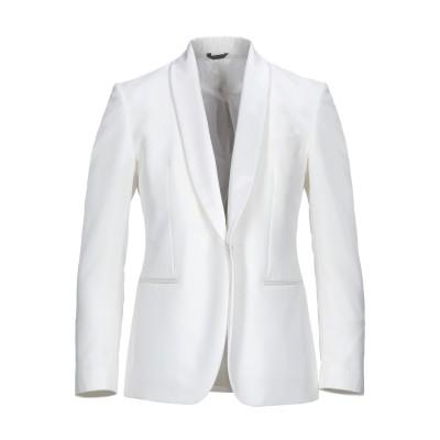 TOMBOLINI テーラードジャケット アイボリー 48 レーヨン 58% / バージンウール 42% テーラードジャケット