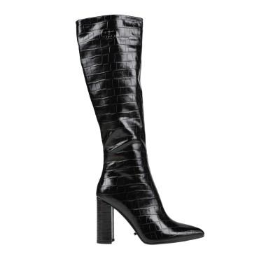GAI MATTIOLO ブーツ ブラック 40 紡績繊維 ブーツ
