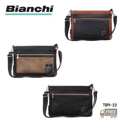 【Bianchi】ビアンキ ショルダーバッグ TBPI22 斜め掛け メンズ 自転車 カジュアル シンプル 男女兼用 送料無料