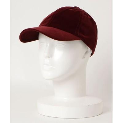 NO ID. / ベロアキャップ MEN 帽子 > キャップ