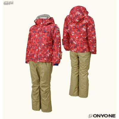 ONYONE RESEEDA(オンヨネ レセーダ) RES67001 ジュニア ガールズ スキーウェア 上下セット 耐水圧3000mm