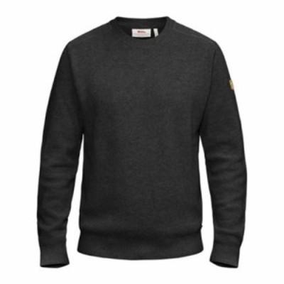 フェールラーベン ニット・セーター Sormland Crew Sweater Dark Grey