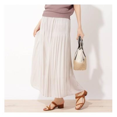 【グローブ/grove】 【LLあり】マジョリカプリーツスカート