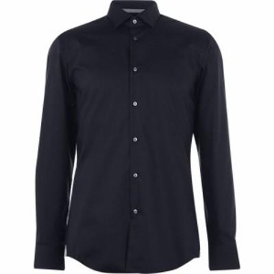 ヒューゴ ボス Boss メンズ シャツ トップス HBT Jesse LS Shirt Sn93 Navy