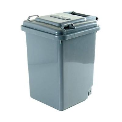 ダルトン プラスチックトラッシュカン 18L グレーPlastic trash can 18L 100-195 gray