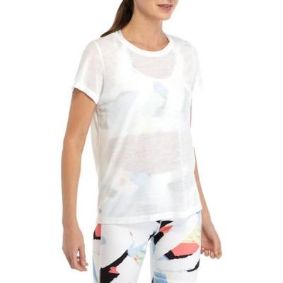 ゼロス レディース Tシャツ トップス Short Sleeve Split Back T-Shirt