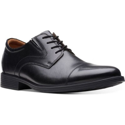 クラークス Clarks メンズ 革靴・ビジネスシューズ シューズ・靴 Whiddon Cap-Toe Oxfords Black