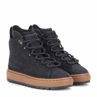プーマ Puma レディース ブーツ ショートブーツ シューズ・靴 The Ren leather ankle boots Puma Black