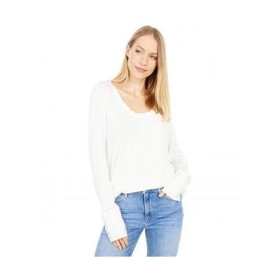 Paige ペイジ レディース 女性用 ファッション Tシャツ Carey Top - Ivory