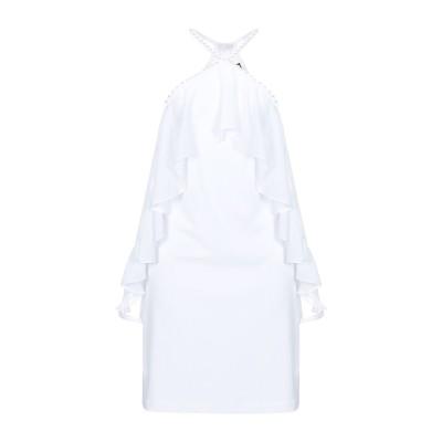MARCIANO ミニワンピース&ドレス ホワイト 38 ポリエステル 100% ミニワンピース&ドレス