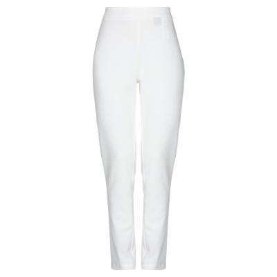 ブルーガール ブルマリン BLUGIRL BLUMARINE パンツ ホワイト 38 ポリエステル 75% / レーヨン 20% / ポリウレタン