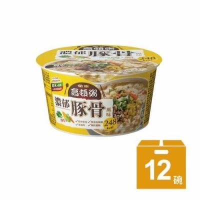 金車 高頓粥 濃郁豚骨風味(12碗/箱)