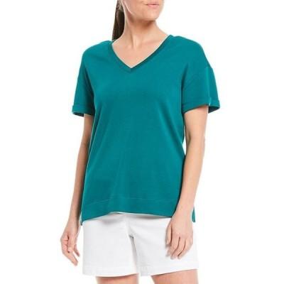 ウエストバウンド レディース Tシャツ トップス Short Sleeve V-Neck Tee