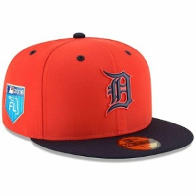 New Era ニュー エラ スポーツ用品  New Era Detroit Tigers Orange 2018 Spring Training Collection Prolight 59FIFTY Fitted Hat