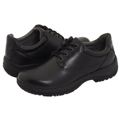 Dansko Walker メンズ オックスフォード Black Smooth Leather