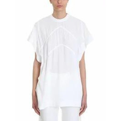 Givenchy レディースその他 Givenchy Graphic Wide Short Sleeves Top White