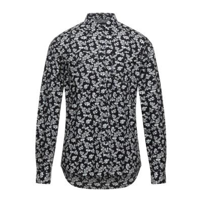 リプレイ REPLAY シャツ ブラック XL コットン 100% シャツ