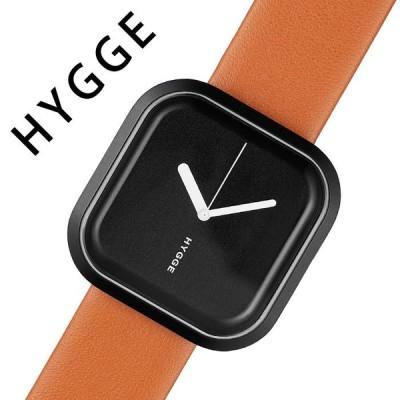 ヒュッゲ 腕時計 HYGGE 時計 ヒュッゲ 時計 HYGGE 腕時計 バリ VARI ユニセックス メンズ レディース ブラック HGE020092 ブランド 防水 スクエア