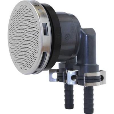 三栄水栓 一口循環接続金具 バスルーム用 