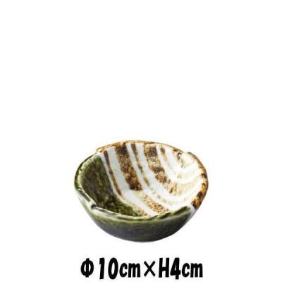織部ストライプ3.3丸小鉢 陶器磁器の食器 おしゃれな業務用和食器 お皿小皿深皿