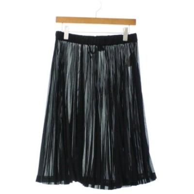 BLACK COMME des GARCONS ブラックコムデギャルソン ロング・マキシ丈スカート レディース