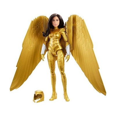 Mattel Wonder Woman 1984 Golden Armor Doll (~12-inch) in Light-Up Armor, Collectible Superhero Doll for 6 Year Olds and Up【並行輸入品