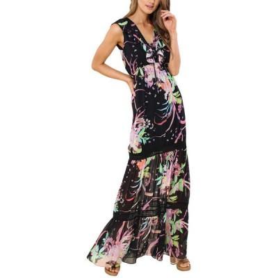 ヘイルボブ ワンピース トップス レディース Hale Bob V-Neck Maxi Dress Colorful femininity with a nod to Boho style.