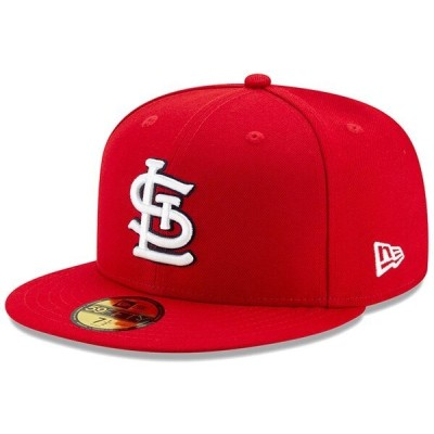 MLB セントルイス・カージナルス キャップ/帽子 オーセンティック オンフィールド 59FIFTY 2020 ニューエラ/New Era ゲーム【平つば キャップ特集】