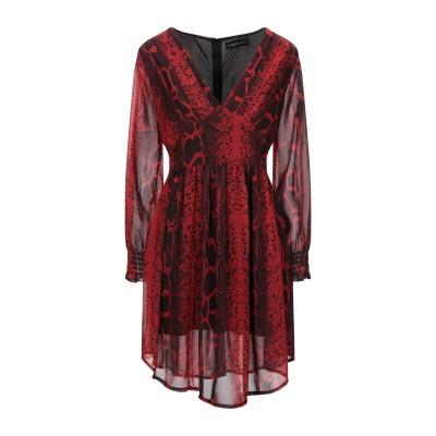 VANESSA SCOTT ミニワンピース&ドレス レッド S ポリエステル 100% ミニワンピース&ドレス