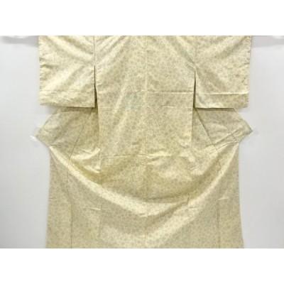 宗sou 抽象模様織り出し西陣お召着物【リサイクル】【着】