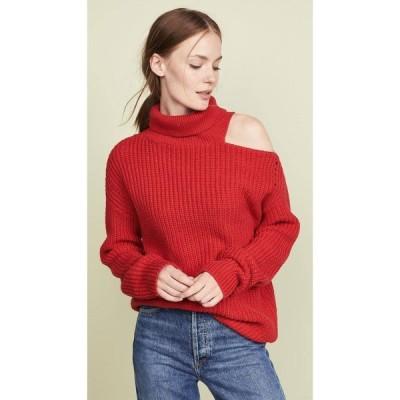 アストラット ASTR the Label レディース ニット・セーター トップス Sepulveda Sweater Cherry Red