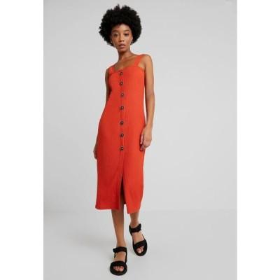 レディース ドレス Day dress - rust