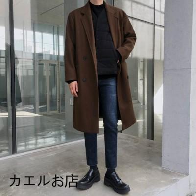 コート 紳士 新作 冬 厚手 2色 オシャレ カジュアル 若者 20代30代 かっこいい