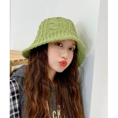 TONE / 【Mimma/Mimaa】ケーブルバケットハット WOMEN 帽子 > ハット