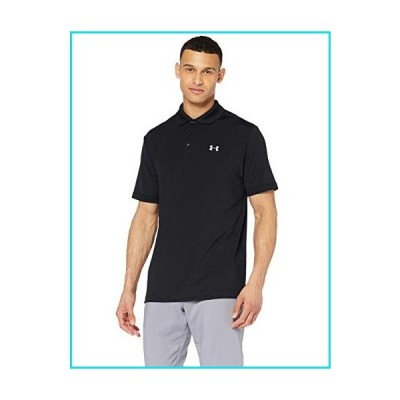 Under Armour Men's Performance Golf Polo, Black (001)/Steel, X-Large【並行輸入品】