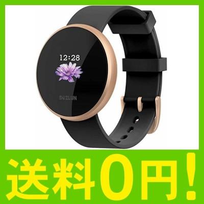 スマートウォッチ 腕時計 レディース 女性生理期 フルタッチ iphone&Android対応 長持ちバッテリー スマートブレスレット IP68防水