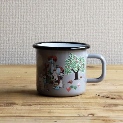 Moomin/ムーミン ムーミンマグ ガーデン グレー