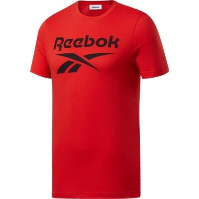 リーボック Reebok メンズ Tシャツ トップス Big Logo Short Sleeve T-Shirt Motor Red